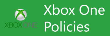 I liked the older Xbox One policies
