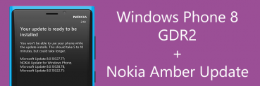Windows Phone 8 GDR2 + Nokia Amber Update now available in Singapore