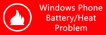 Windows Phone (Nokia Lumia 920) Battery Drain / Heat Problem (Fix?)