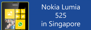 Nokia Lumia 525 in Singapore