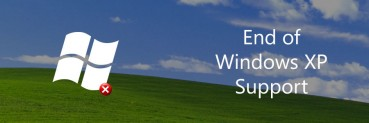 Don't be exposed when support for Windows XP Ends on 8 April 2014