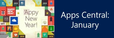 Apps Central: January