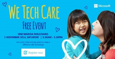 Microsoft's We Tech Care Open House