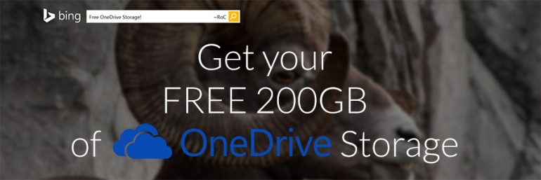 Get your FREE 200GB of OneDrive Storage