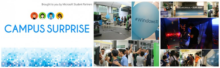 Microsoft Student Partners Singapore – October Summary